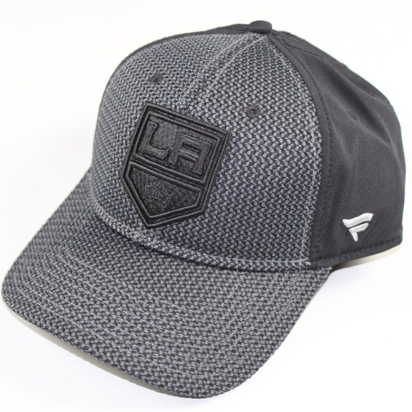 172e90c03b59b Fanatics Kings Hockey Tweed NHL Hat Cap Gray